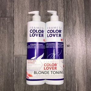 Framesi color lover blonde shampoo & conditioner